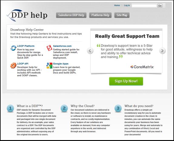 DDP Help