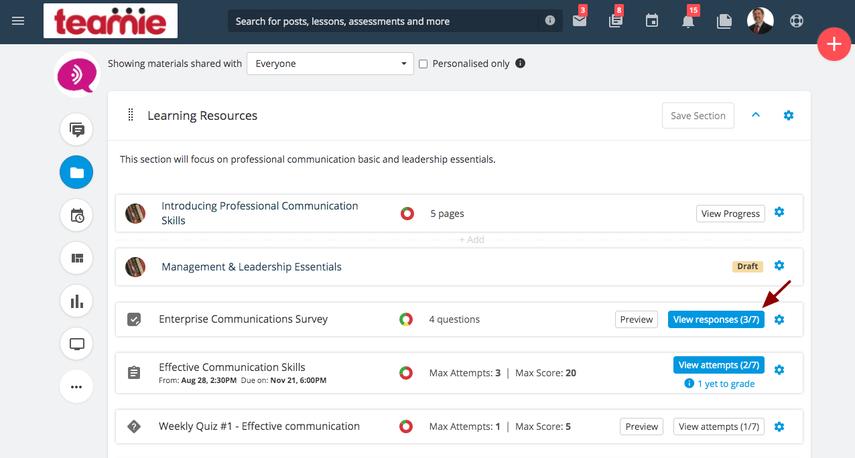 (15) Materials   Professional Communication Skills   Teamie Next