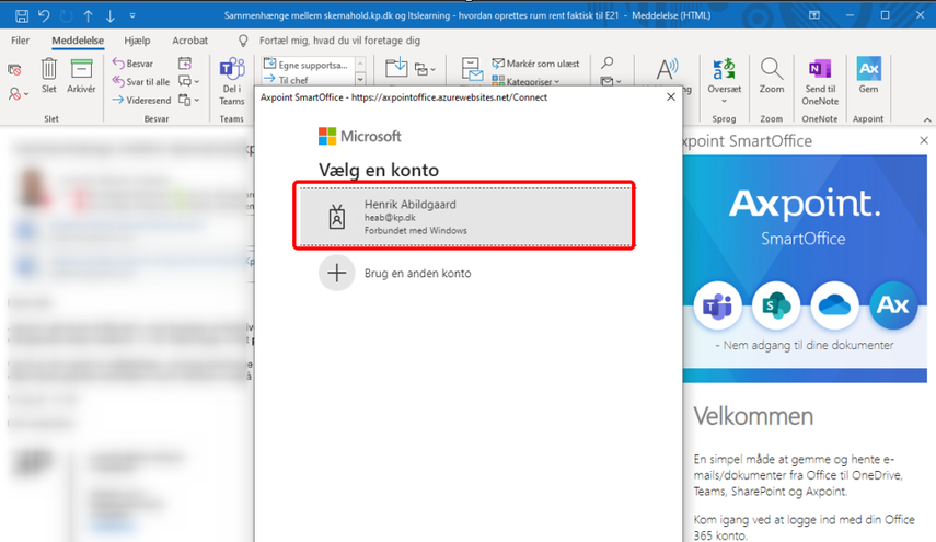 IT service - arbejdsmøde | Microsoft Teams
