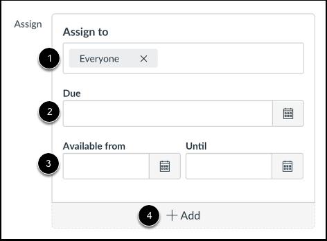 Modifier les dates d'échéance et de disponibilité