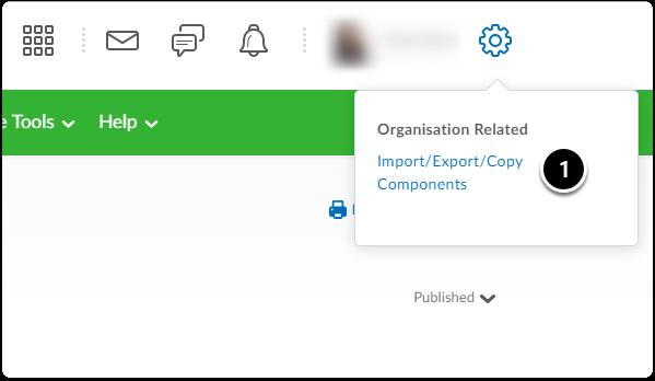 Import/export/copy components