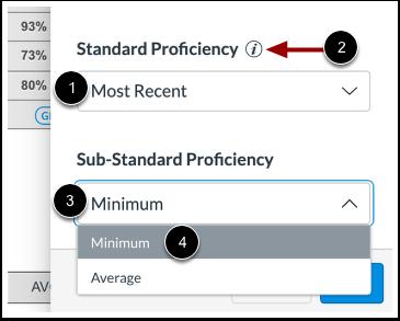 Adjust Proficiency Settings