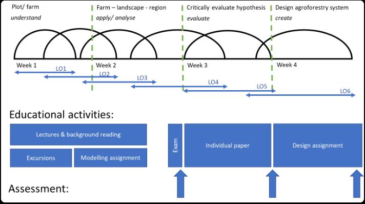 Figure 1: Course structure