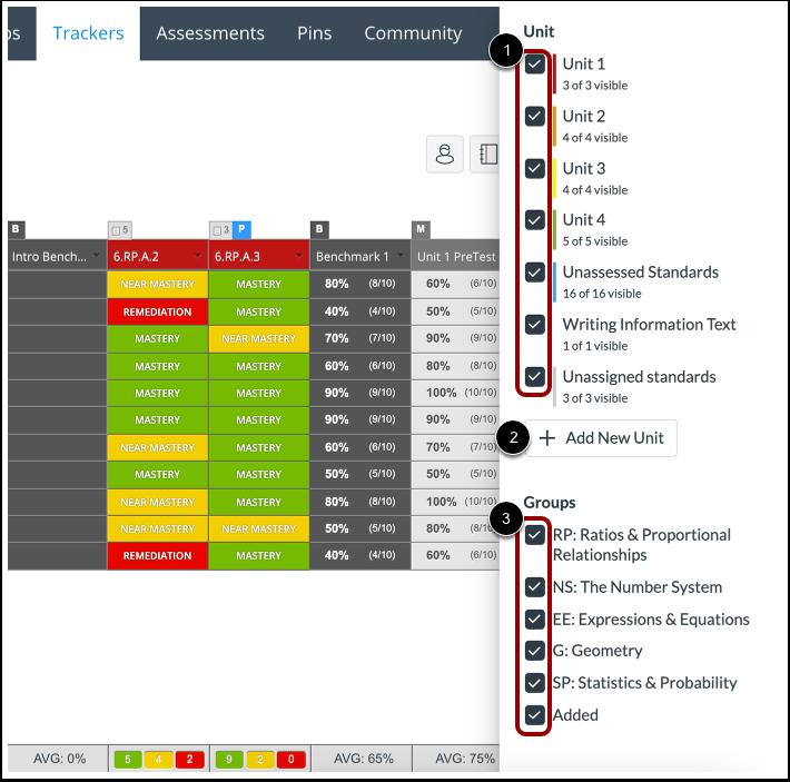 Adjust Display Score Settings