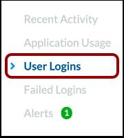 Open User Logins