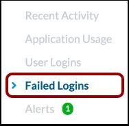 Open Failed Logins