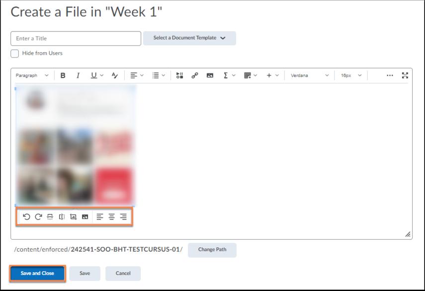 Edit HTML File - SOO-BTH-TESTCURSUS-01 - Google Chrome