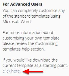 upload custom invoice template