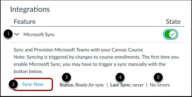 Sync Course Data