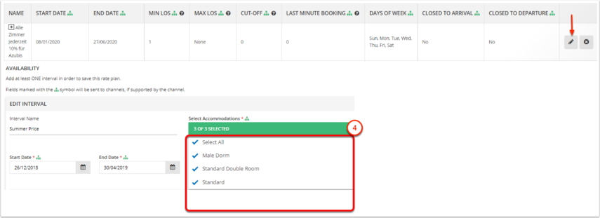 DEMO - Karina's Hostel - Rate Plans & Packages - Google Chrome