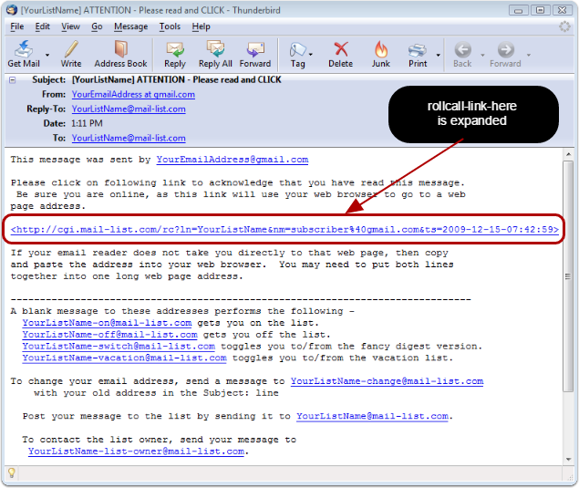 This is how the email will look like to your subscribers: