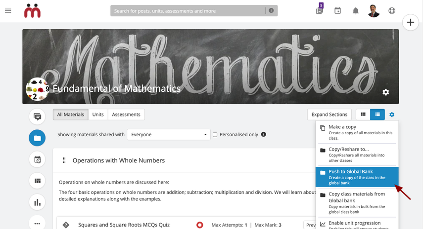 (66) Materials   Fundamental of Mathematics   Release QA Site