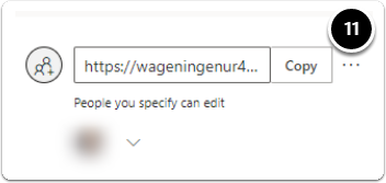 More options Menu, click the three dots to access