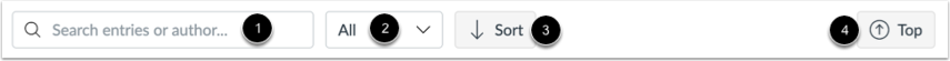 View Announcement Toolbar