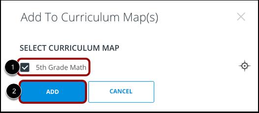 Select Curriculum Map