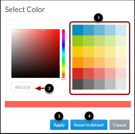 Cusomize Chart Item Color