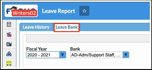 Leave Report