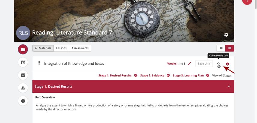 Materials | Reading: Literature Standard 7 | SAS