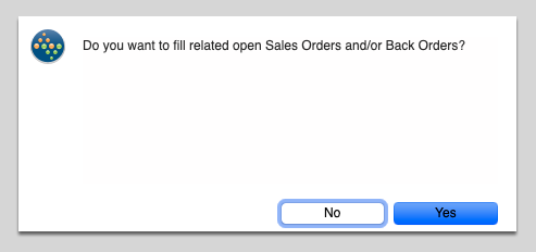 Filling a Sales Order from a Completed Work Order