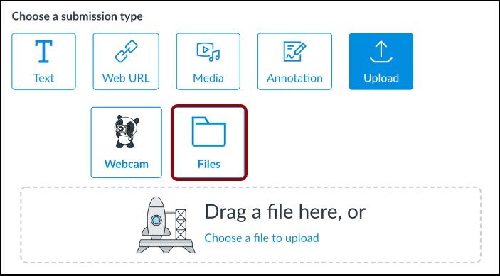 Upload Canvas User File