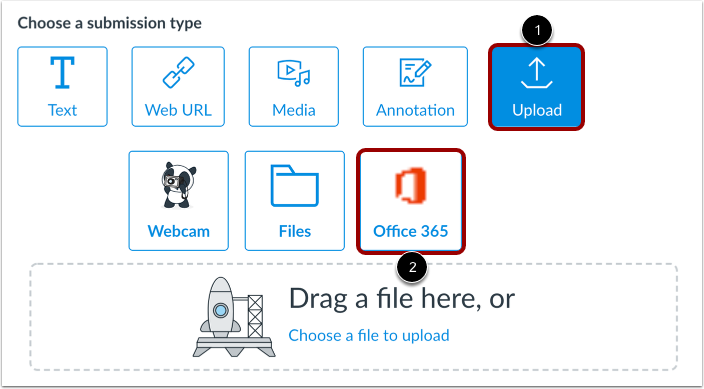 Submit Office 365 File
