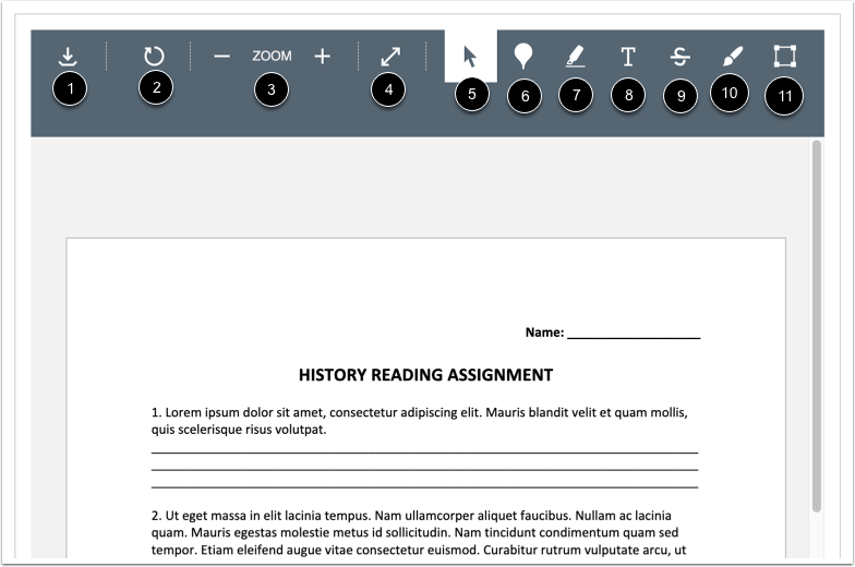 Annotate Assignment