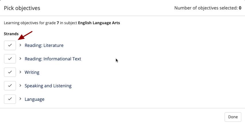 (14) Materials | Reading: Literature Standard 7 | SAS