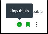 Unpublish Discussion