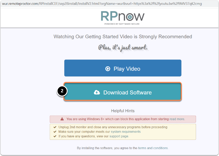 RPnow website> then click on Download Software