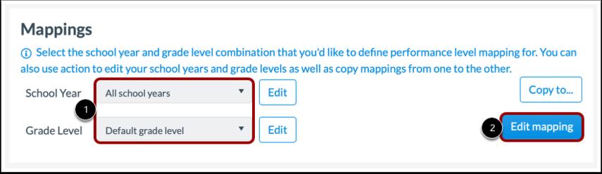 Edit Mapping