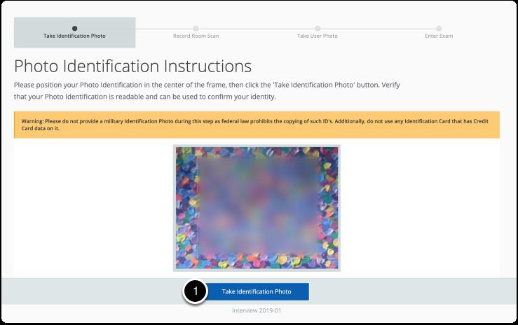 Photo Identification Instructions