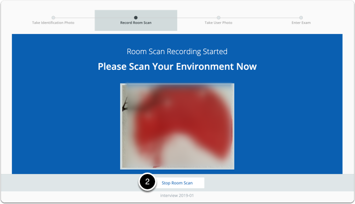 Room Scan Recording Started