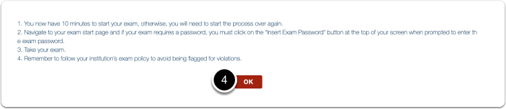 Read the instructions > Click on OK