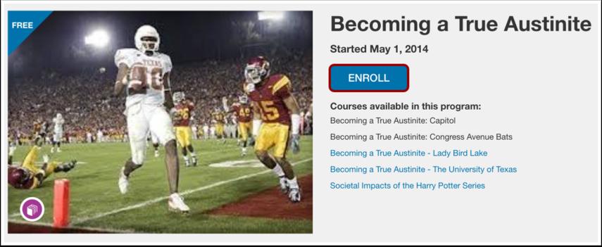 Enroll in Program