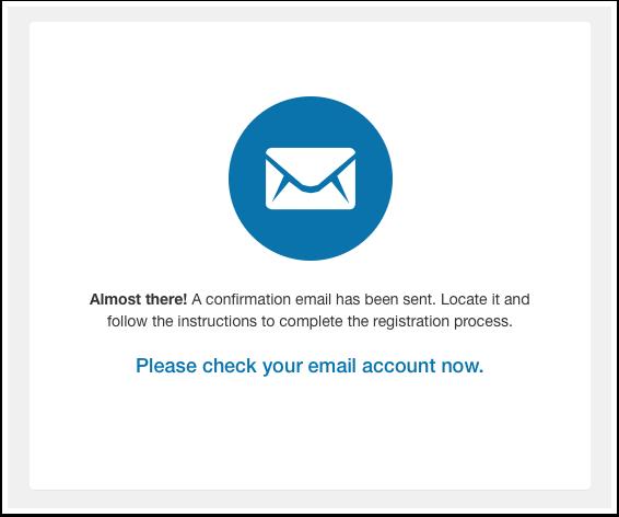 Complete New User Registration