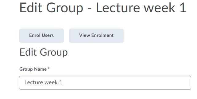 Edit Group - Lecture week 1 - Brightspace Sample Course - Leiden University - Google Chrome