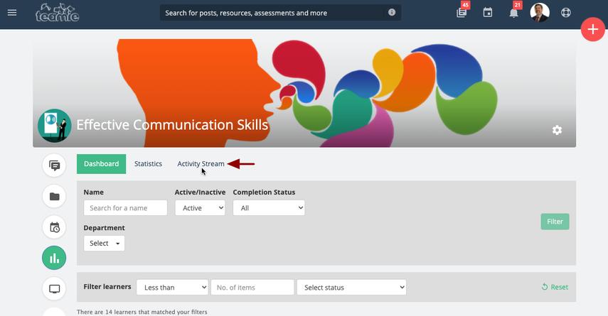 (21) Learner Progress | Effective Communication Skills | Training Demo