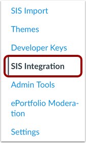 Open SIS Integration