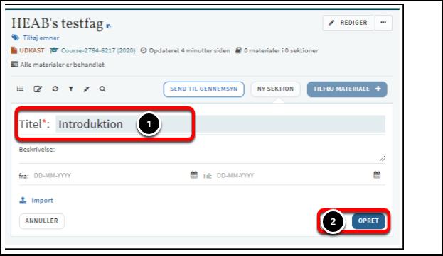 HEAB's testfag – Google Chrome