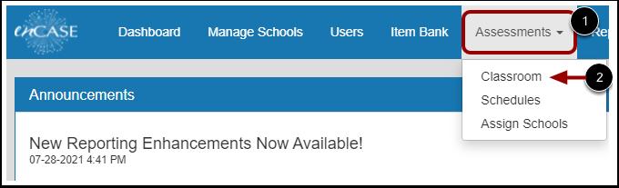 Open Classroom Assessments