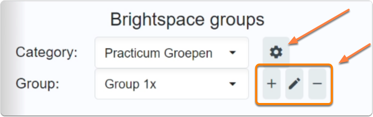 Brightspace Groups