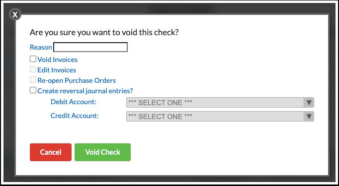 Internal Account Checks