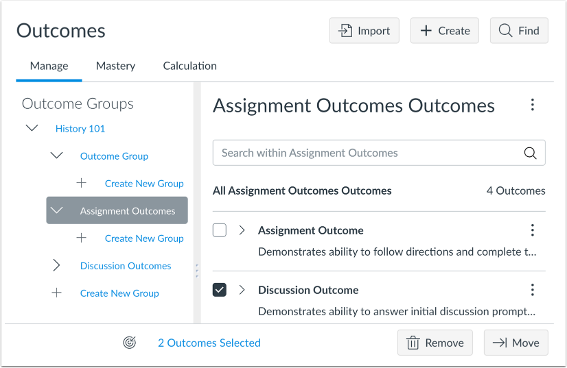 Improved Outcomes Management