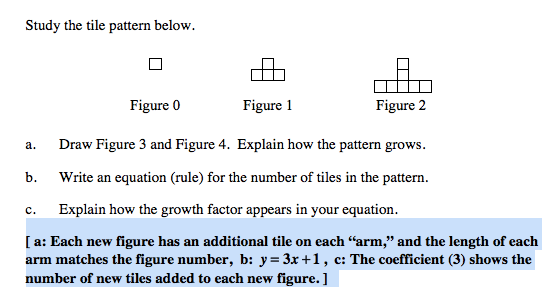 b. On the student version, the answers need to be deleted.