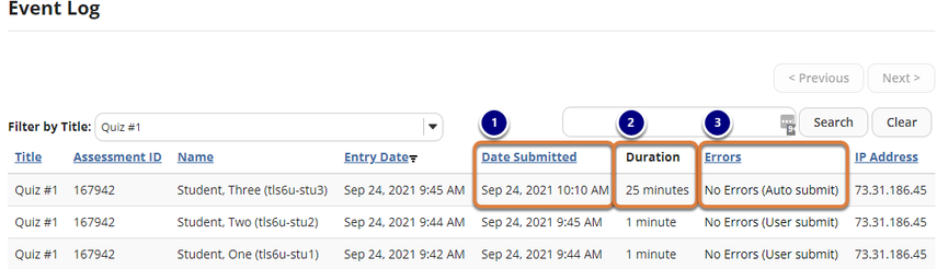 Screenshot of example Event Log described below. Graphic link opens modal with larger image. Press Escape to exit modal.