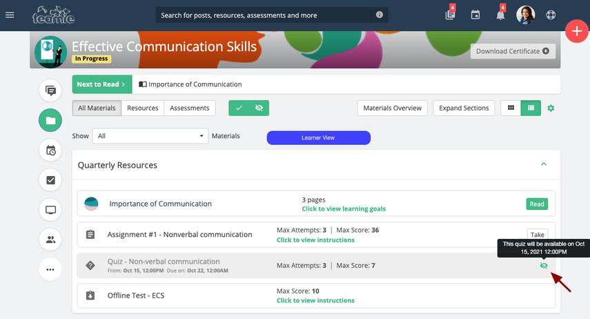 (4) Materials | Effective Communication Skills | Training Demo