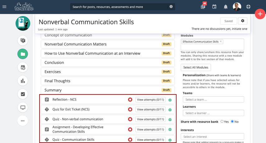 Nonverbal Communication Skills | Training Demo