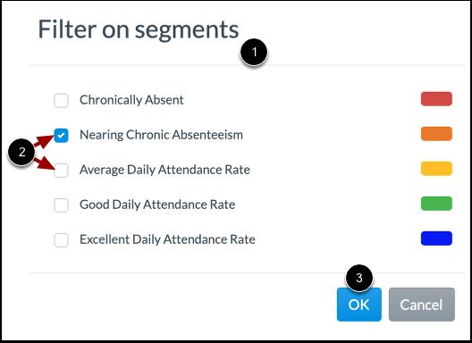 Select Segment Filters