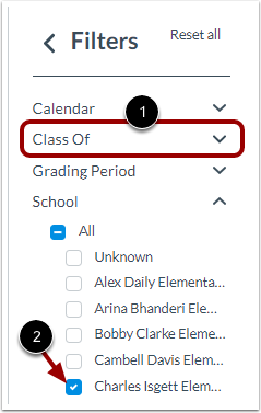 Select Filters