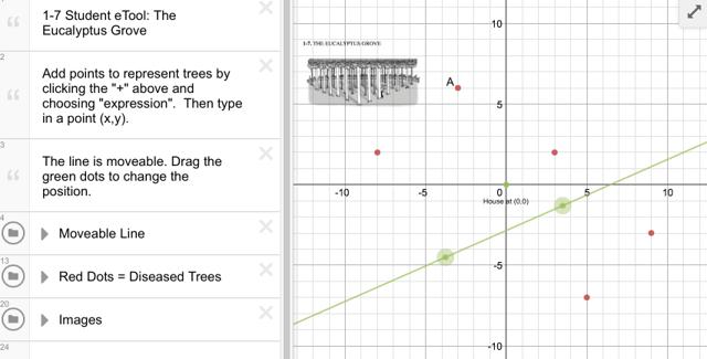 Use this eTool to solve the Eucalyptus Grove problem!